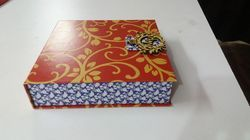 Box Invite Royal Namra 066 Wedding Card