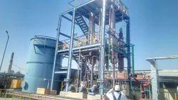 Stainless Steel Waste Water Evaporator, Capacity: 100-5000 Ltr