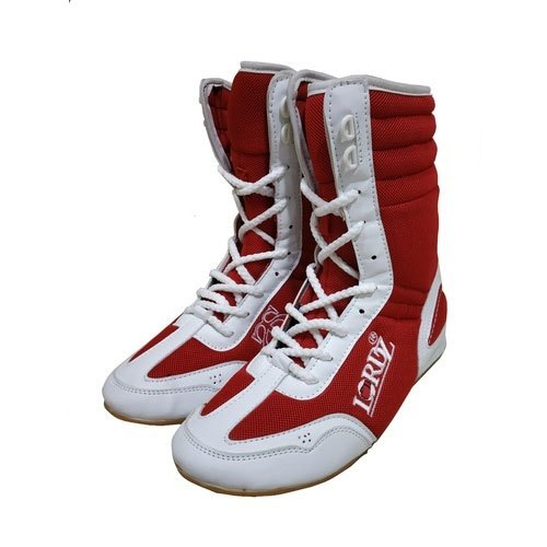 Red Designer Boxing Shoes, Packaging