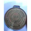 Round Brass Medal