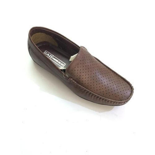 fantastic savings shop in stock Dark Brown Mens Leather Loafer Shoes, Size: 6-10, Rs 275 /pair ...