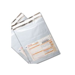 LDPE 50 Micros Online Courier Bag with POD Available Size : 10X12 OR 12X14 OR 12X16