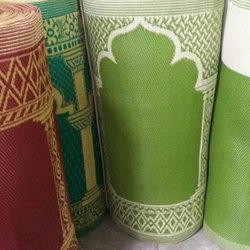 Green Namaz Polypropylene Mat, Size: 3x9 Ft