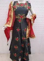 Readymade designer long dress