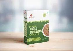 9 Months Sprouted Ragi & Cardamom Porridge Mix, Packaging Type: Box, Powder