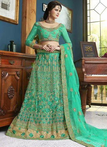 a01e1cff47 Lehenga Choli - Net Designer Lehenga Choli Manufacturer from Surat