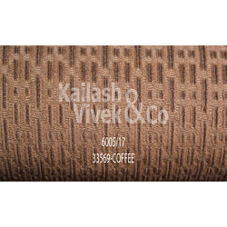 Structured Corduroy Coffee Suiting Fabric