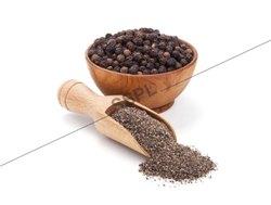 Black Pepper Powder, Packaging Type: PP Bag and Box, 25 Kg