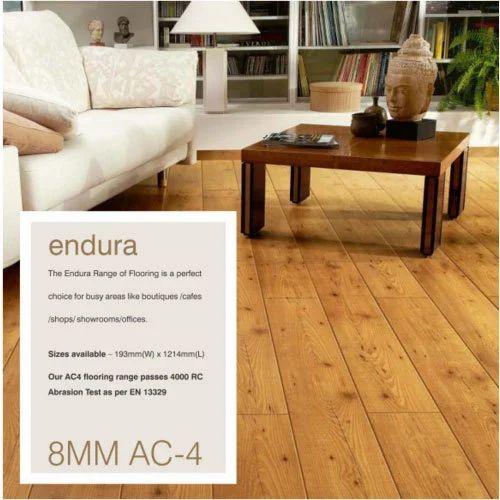 Endura Hdf Laminate Flooring 8 Mm Rs 9946 Square Feet Mars