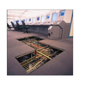 Office False Flooring