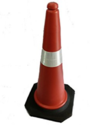 Heavy Rubber Base Traffic Cone