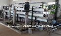 20 M3/hr Reverse Osmosis Plant
