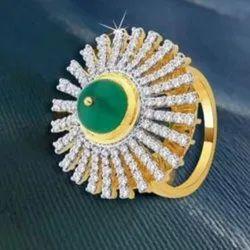 钻石太阳光戒指,尺寸:16