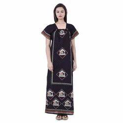 Black Cotton Nightgown dede011c1