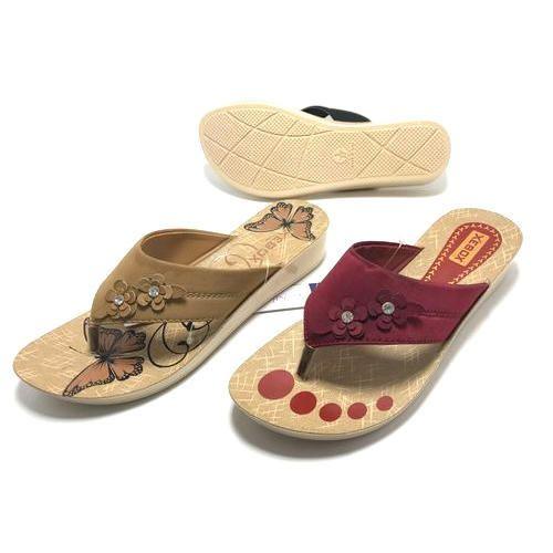 e8a63400e6ac Ladies PU Slippers