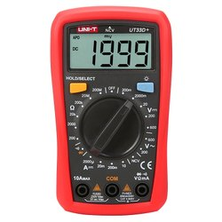 UNI-T UT33D  Palm Size Digital Multi Meter with 2 Meter drop test.