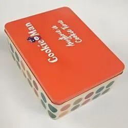 Cookie Man Tin Box