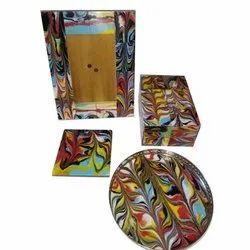 Designer Resin Handicraft Table Top Set