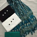 Manipuri Cotton Printed Dress Material