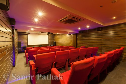 Home Theater Interior Designing, Wood Work & Furniture