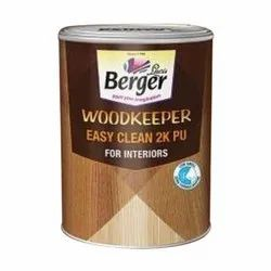 Berger Woodkeeper Easy Clean 2K Interior PU Paint, Packaging: Tin