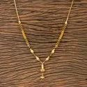 Antique Delicate Mangalsutra With Gold Plating 202613, Size: Length = 18 Inch
