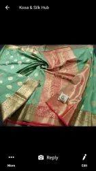 Designer Banarasi Katan Silk Sarees