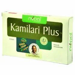 Kamilari Plus Tablet, Packaging Type: Box, Grade Standard: Medicine Grade