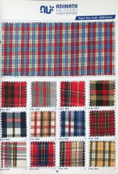 Twill Check Fabric