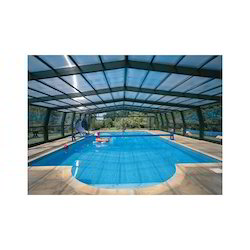 Transparent Toughened Roofing Glass, Thickness: 10.0 mm, Shape: Flat