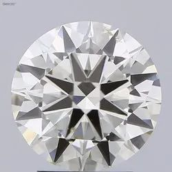 0.56ct Lab Grown Diamond  Round Brilliant Cut  HRD Certified Stone