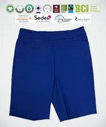 Fair Trade Organic Cotton Ladies Shorts