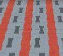 Grey & Red I Block 60 Pavers, 60 M.m