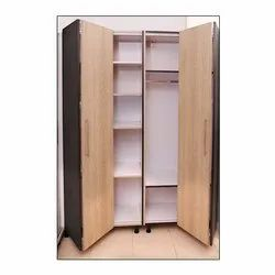 Decor Worlds Wooden Foldable Wardrobe for Bedroom