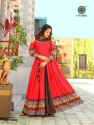 Aradhana Fashion Rayon Long Anarkali Designer Suit