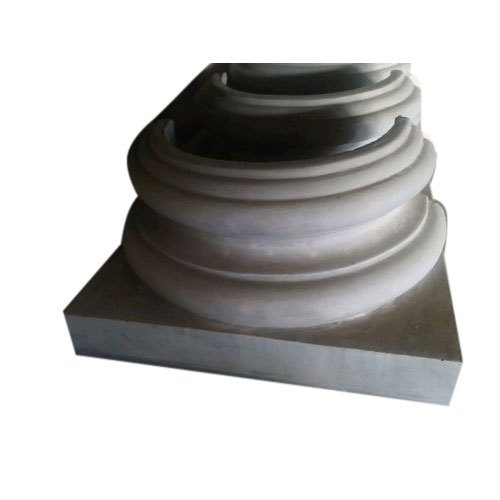 White Cement Column Base