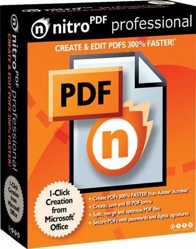 1 Year License Nitro PDF Converter, For Mac, PAN India, Rs 12000 /unit |  ID: 20311306088