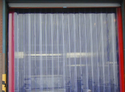 Transparent Plain Pvc Strip Door Curtain