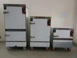 220 V Stainless Steel HFI RICE/ IDLI STEAMER HOTFROST, For Commercial