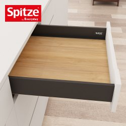 Grey Slim Tandem Drawer 400mm x 88mm