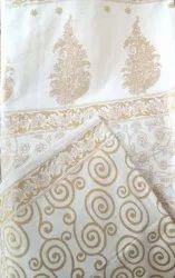 Gold Printed Bedsheet