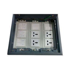 Floor Box for Electric Multi Purpose Connections