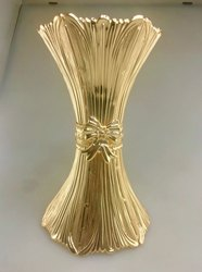 Classic Gold Flower Vase Size Big