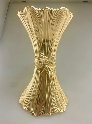 IndiaMART & Classic Gold Flower Vase Size Big