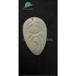 White Bone Pendant