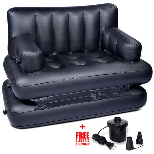 5 In 1 Inflatable Synthetic Air Sofa Bed