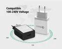 Black, White Samsung Usb 2.0 Adaptor, 220 V