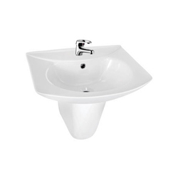 Plain Starwhite Ivory White Wash Basin, For Bathroom