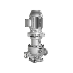 SS Vertical Centrifugal In-Line Fabricated Pumps