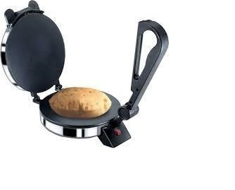 Silver & Black 1000 Watts Elecrtic Roti Maker